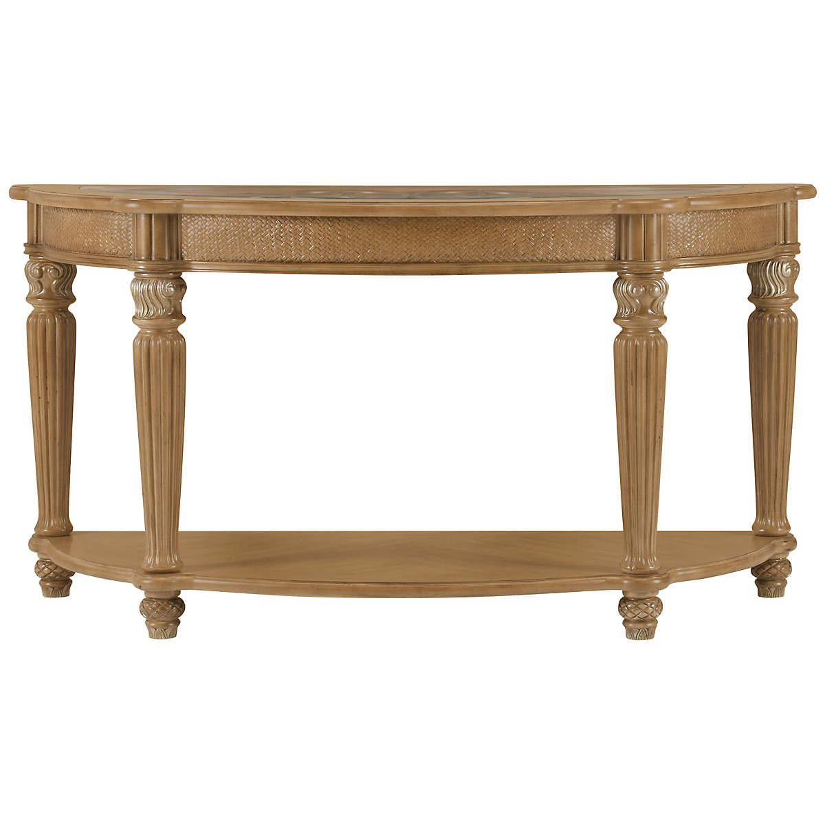 Tradewinds Light Tone Metal Sofa Table