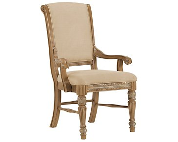 Tradewinds2 Light Tone Upholstered Arm Chair