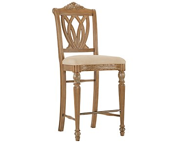 "Tradewinds2 Light Tone 30"" Wood Barstool"