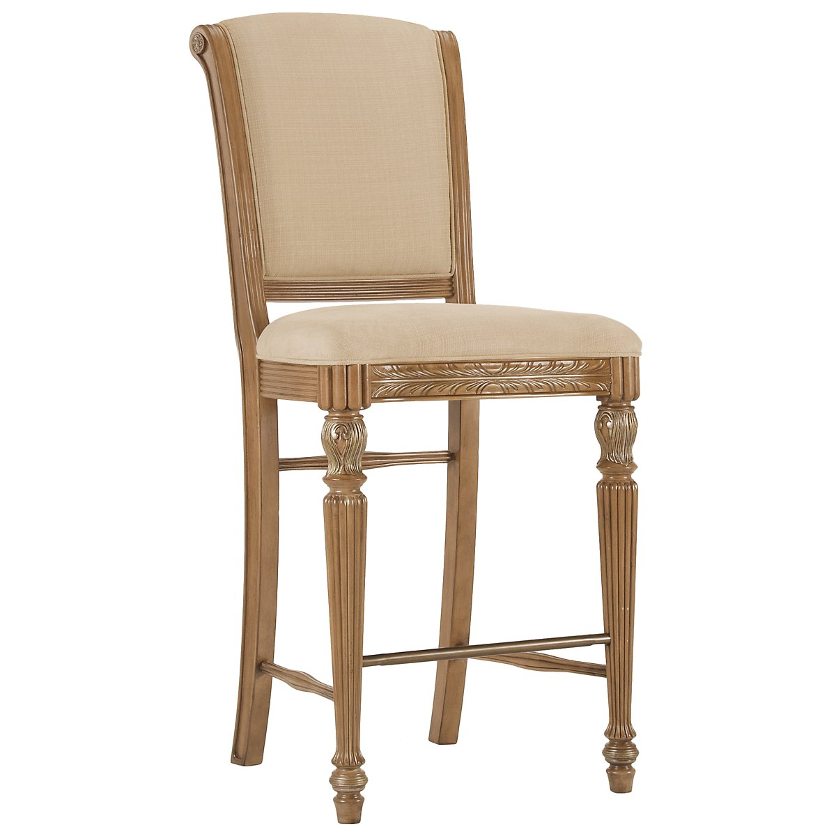 "Tradewinds2 Light Tone 30"" Upholstered Barstool"
