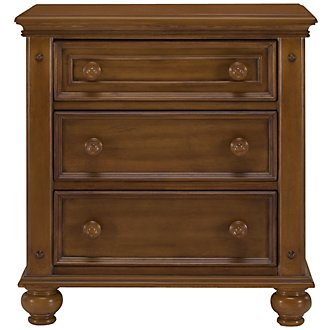 Claire Mid Tone Nightstand