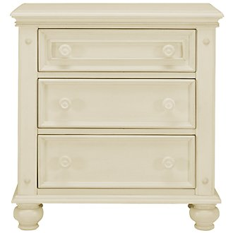 Claire White Nightstand