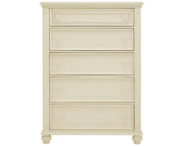 Claire White Drawer Chest