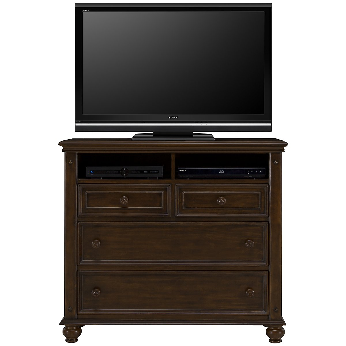 Claire Dark Tone Media Chest