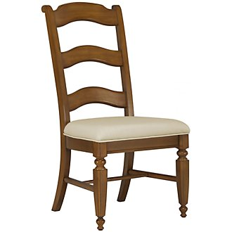 Claire Mid Tone Wood Side Chair