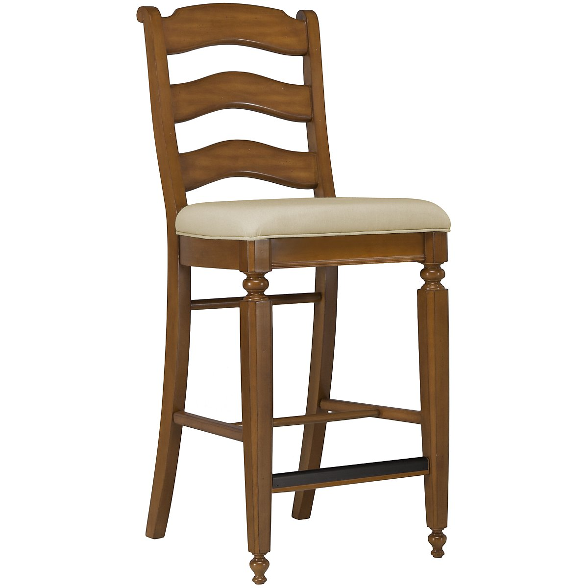 "Claire Mid Tone 30"" Wood Barstool"