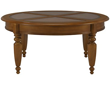 Claire Mid Tone Round Coffee Table