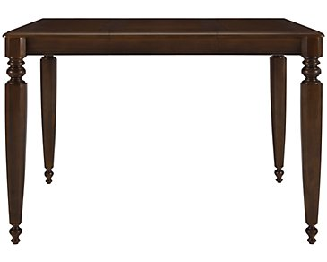 Claire Dark Tone High Dining Table