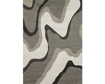 Encore Multicolored 5X8 Area Rug