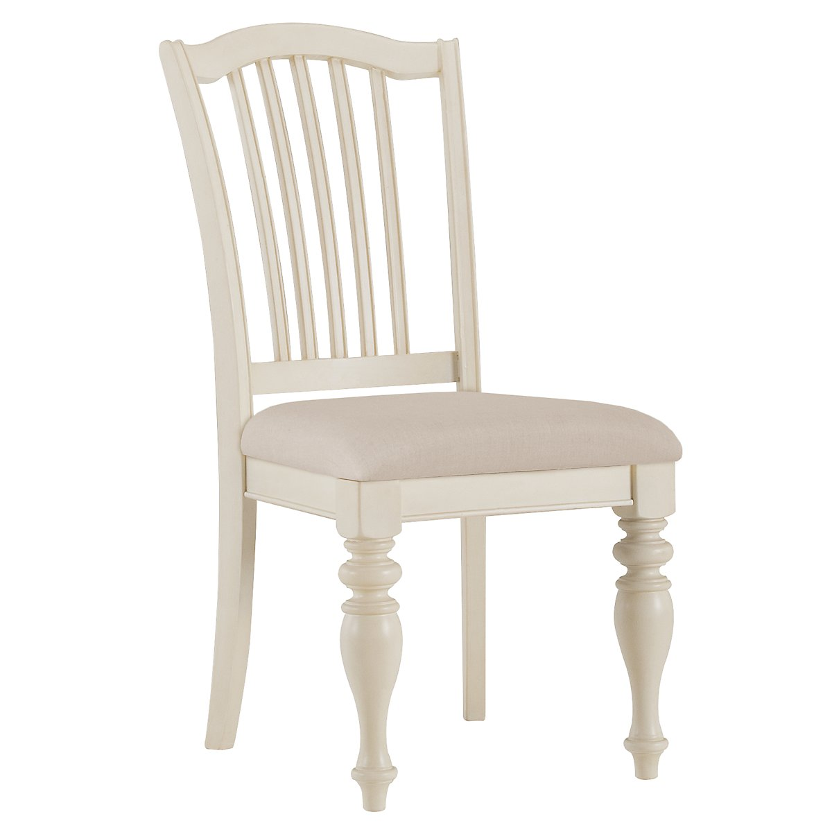 Coventry2 White Wood Side Chair
