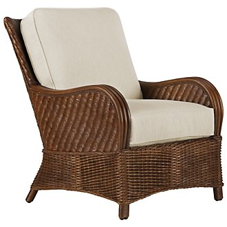 Riviera Mid Tone Woven Accent Chair