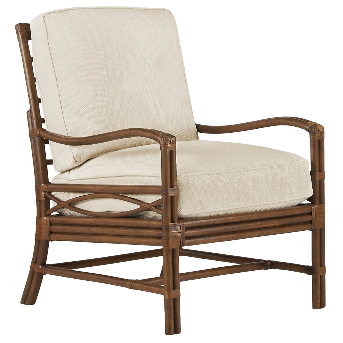 Chester Mid Tone Woven Accent Chair