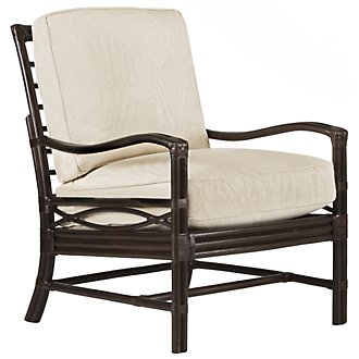 Chester Dark Tone Woven Accent Chair