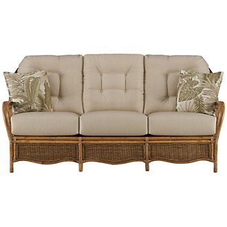 Glades Light Tone Woven Sofa