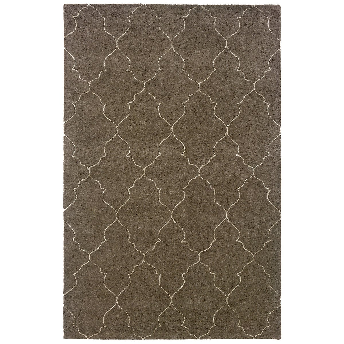 Asha Dark Brown 8X10 Area Rug