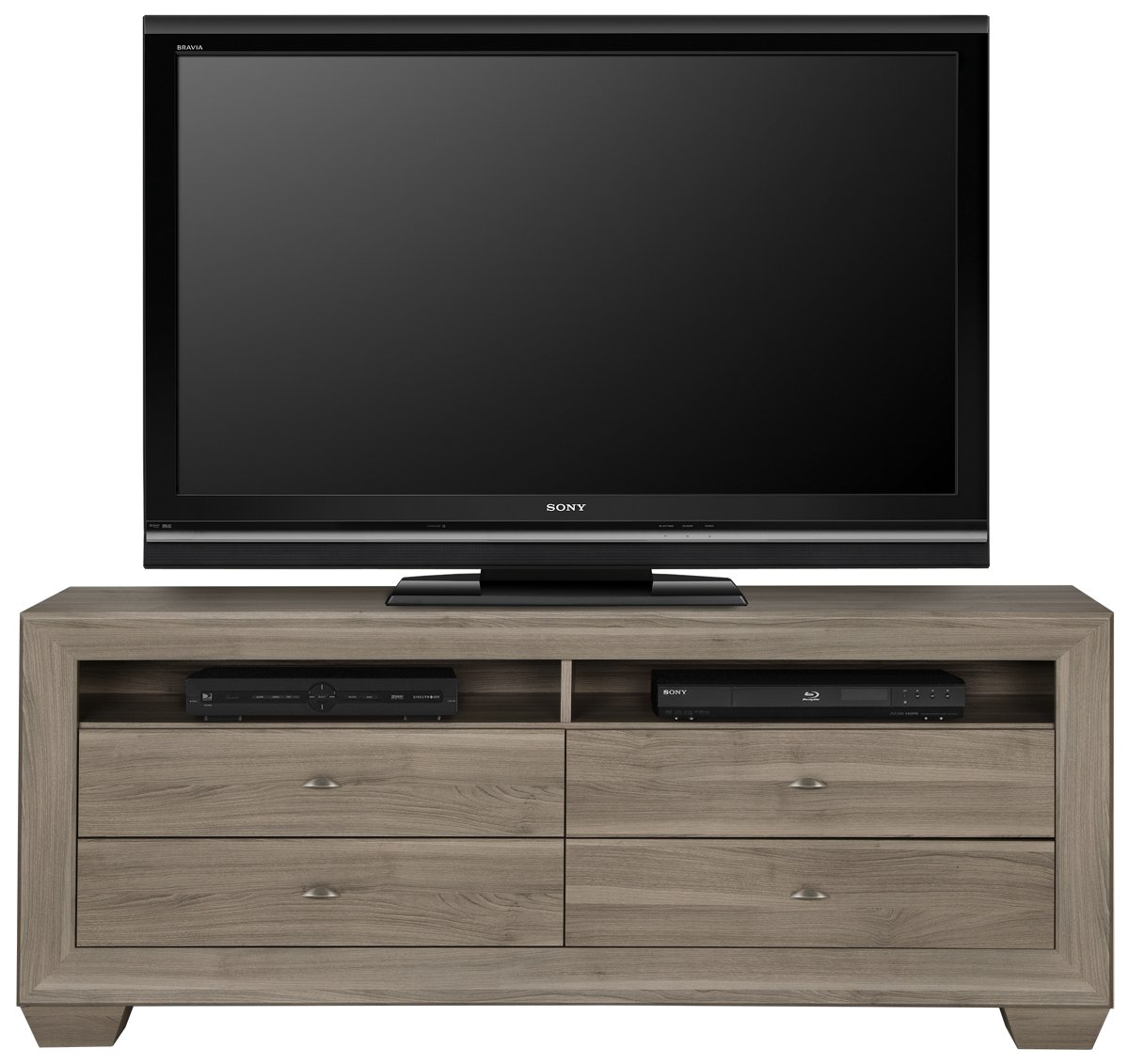 "City Furniture Adele2 Light Tone 70"" TV Stand"