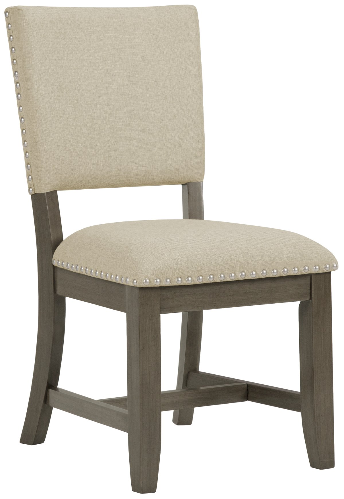 City Furniture Omaha Gray Upholstered Side Chair
