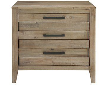 Casablanca Light Tone Nightstand