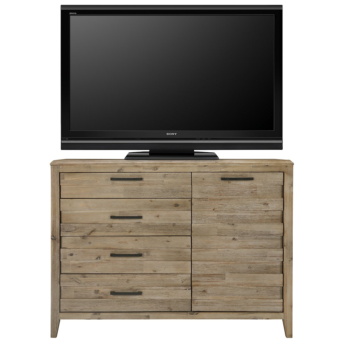 Casablanca Light Tone Media Chest