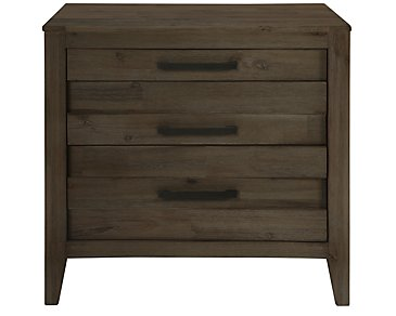 Casablanca Dark Tone Nightstand