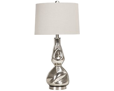 Dovera Silver Table Lamp