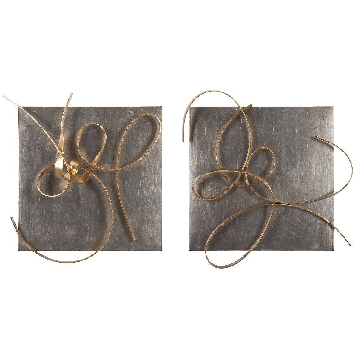 Harmony Gold Set Of 2 Metal Wall Art