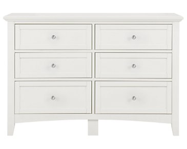 Captiva White Small Dresser