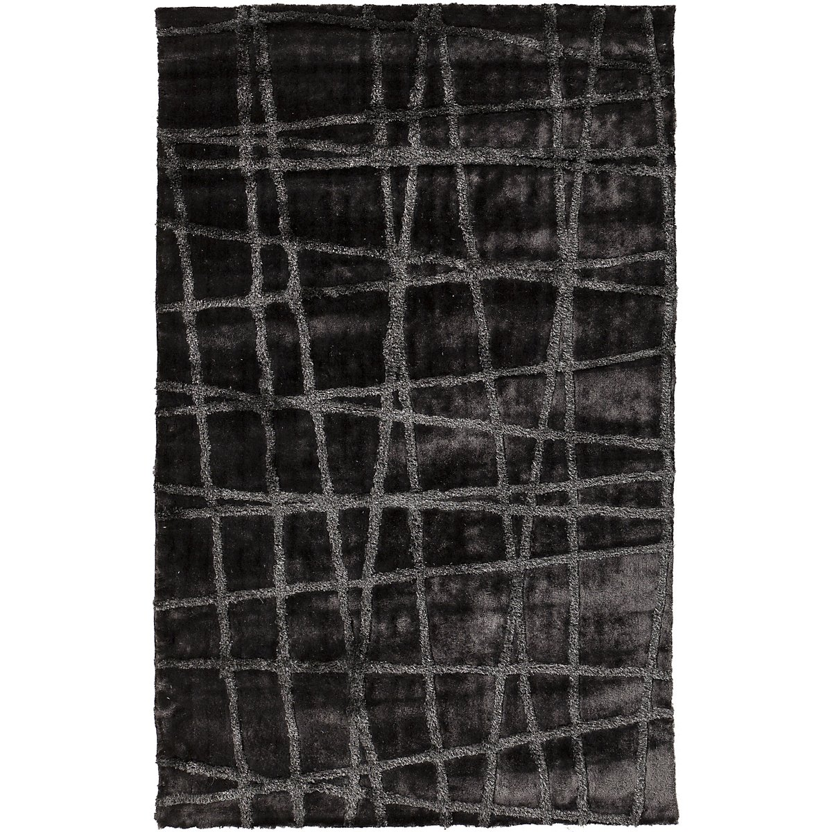 Graph Dk Gray 5X8 Area Rug