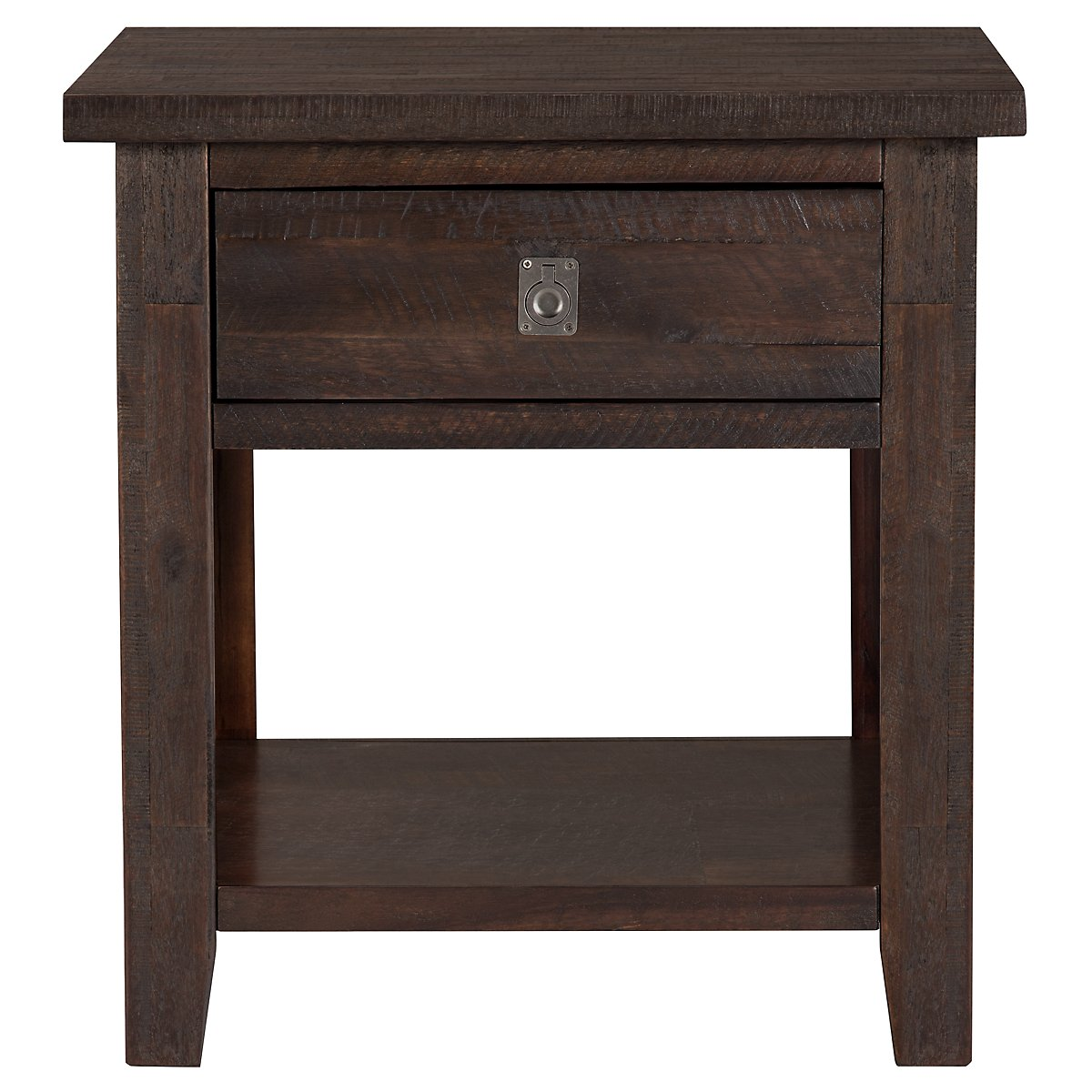 Kona Grove Dark Tone Storage End Table