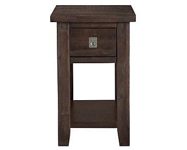 Kona Grove Dark Tone Chairside Table