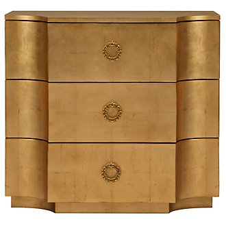 Jet Set Gold Accent Chest