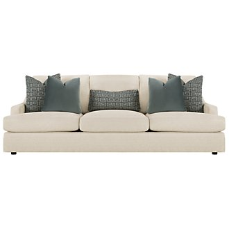 Josh Lt Beige Fabric Sofa