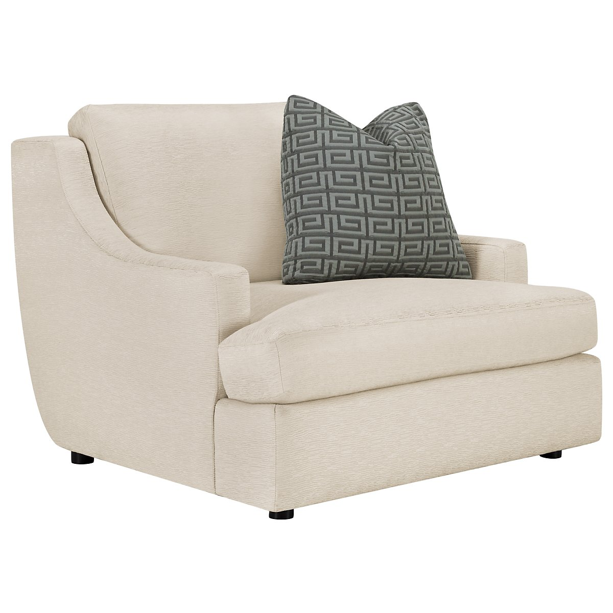 Josh Lt Beige Fabric Chair
