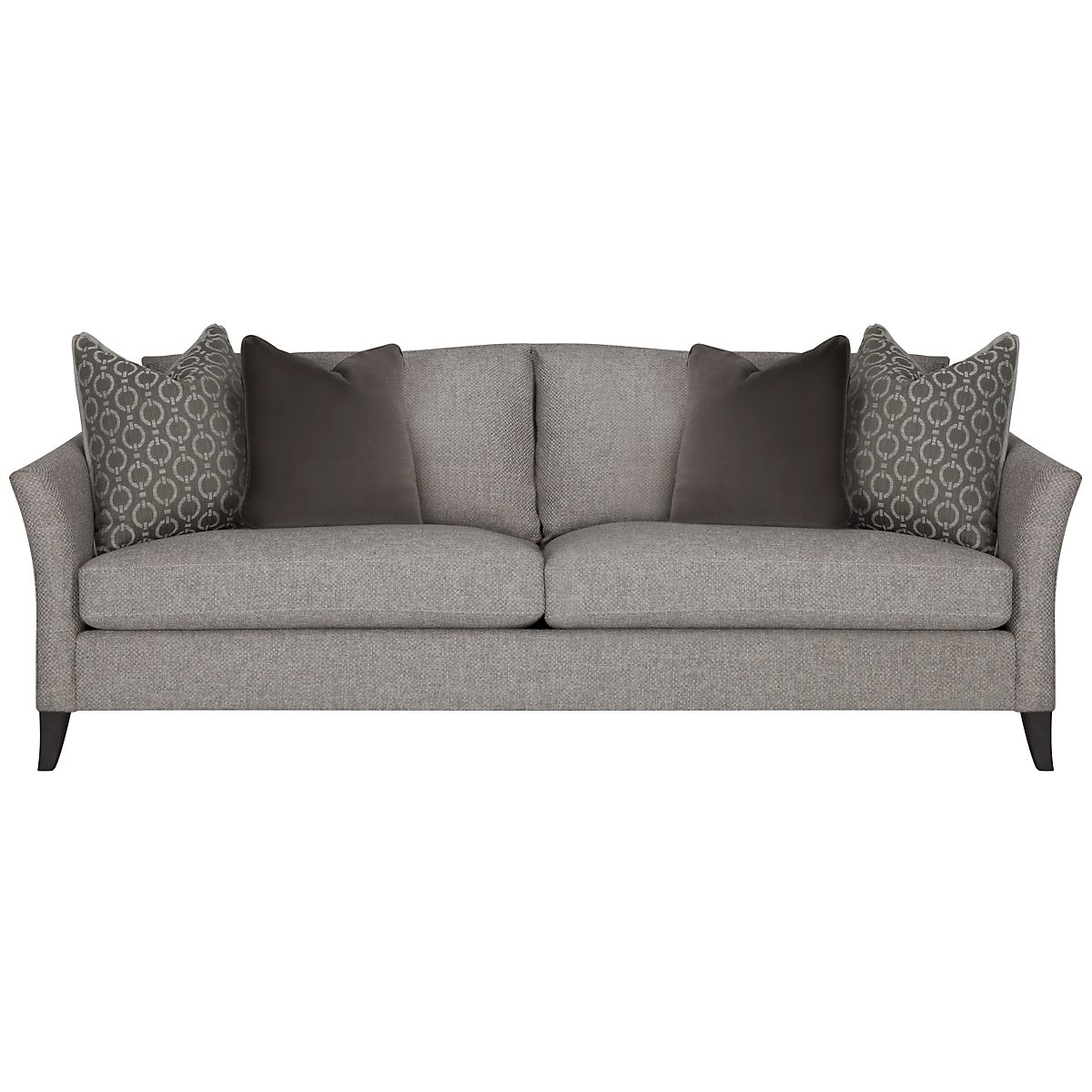 Claiborne Lt Gray Fabric Sofa