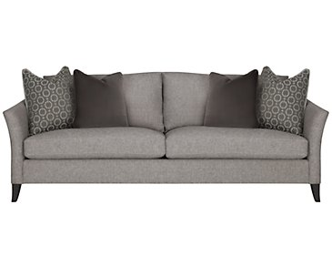 Claiborne Light Gray Fabric Sofa