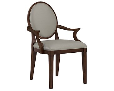 Haven Mid Tone Round Arm Chair