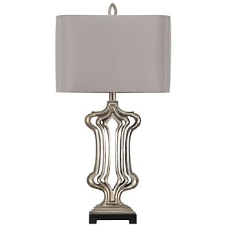 Summit Dk Taupe Table Lamp