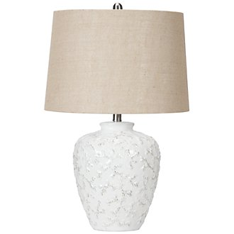 Ellis White Table Lamp