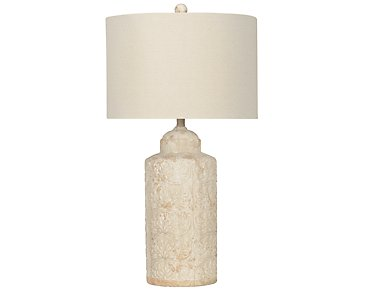Savana Light Beige Table Lamp