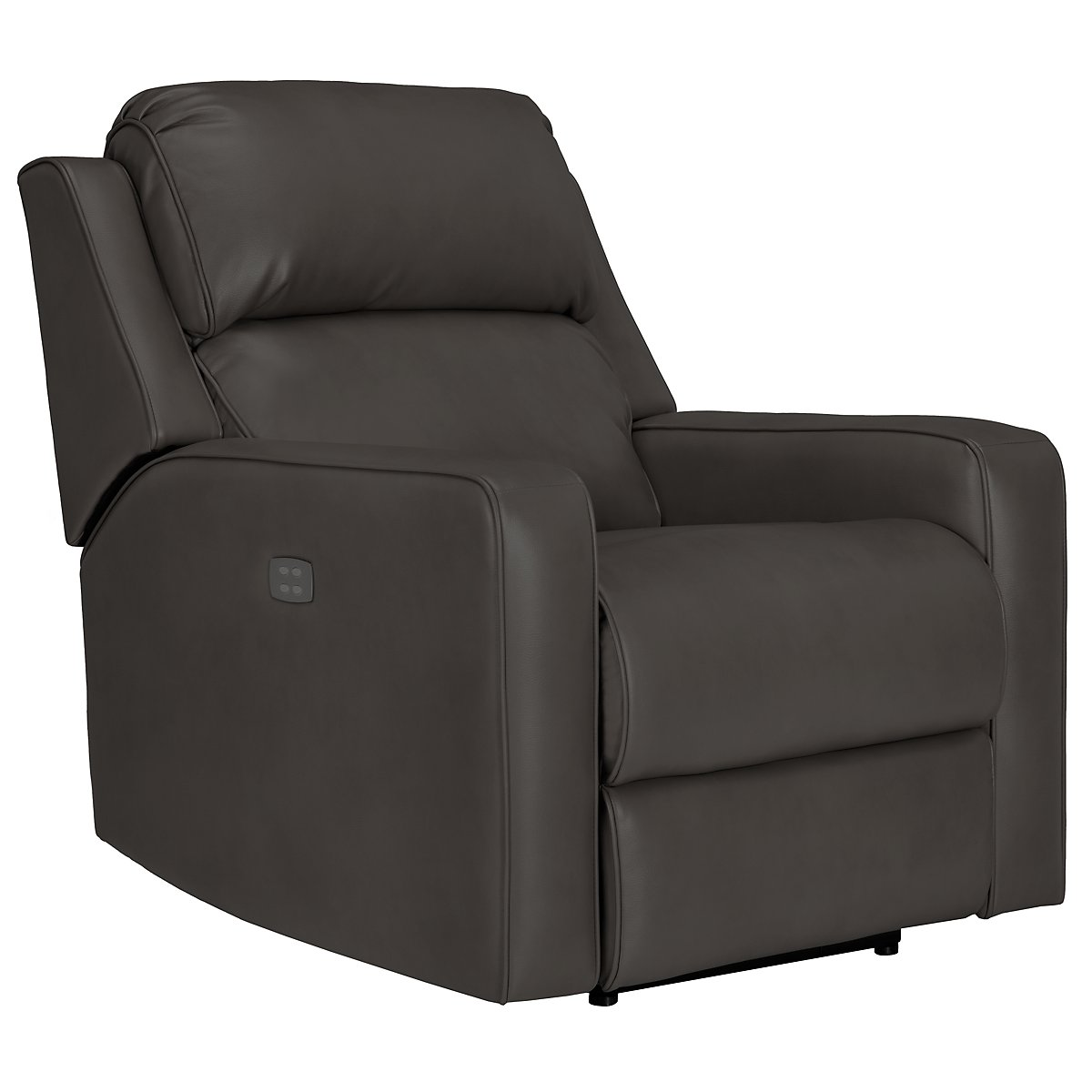 Rocco Gray Microfiber Power Recliner