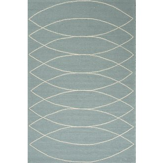 Adel Blue Indoor/Outdoor 5x8 Area Rug