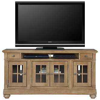 "Harbor View Light Tone 62"" TV Stand"