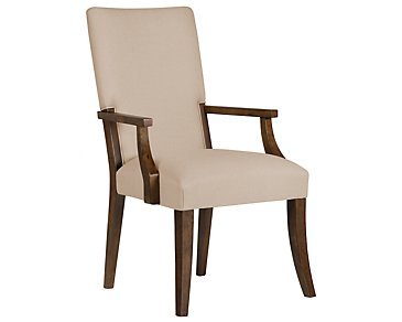 Savoy Mid Tone Upholstered Arm Chair