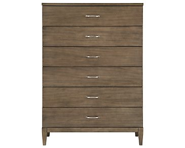 Preston Gray Drawer Chest