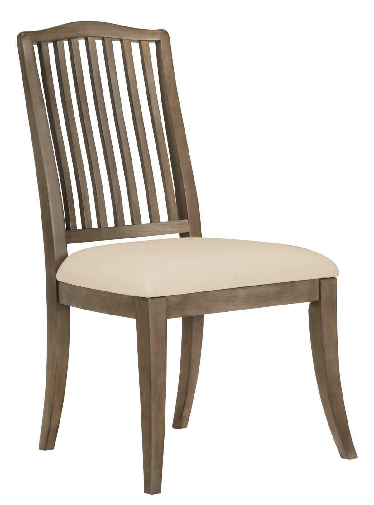 City Furniture Preston Gray Wood Side Chair