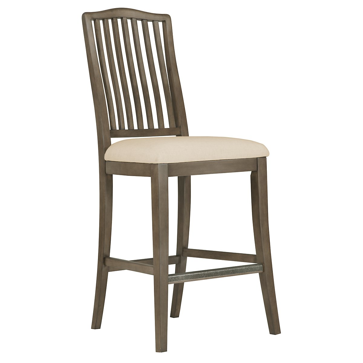 "Preston Gray 30"" Wood Barstool"