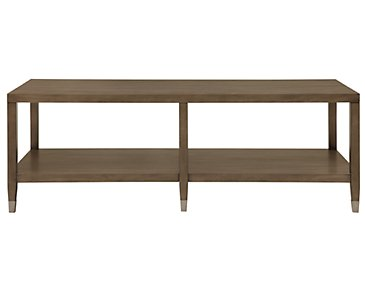 Preston Gray Rectangular Coffee Table