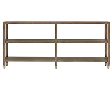 Preston Gray Sofa Table