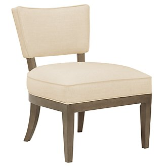 Preston Gray Accent Chair