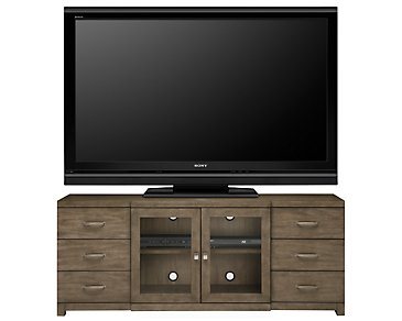 "Preston Gray 66"" TV Stand"